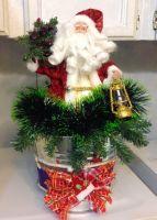 Santa in a Bucket