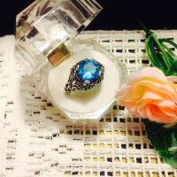 Vintage Style Crystal Ring