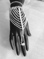 Full Hand Crystal Bracelet
