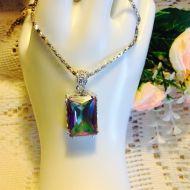 Rainbow Crystal Pendant