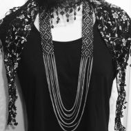 Decorative Beaded Necklace